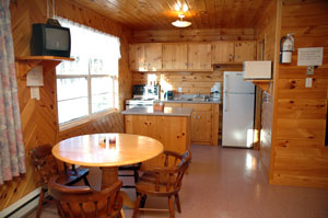 Seacape Oceanfront Cottages Nova Scotia offers fully equipped kitchens